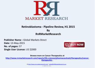 Retinoblastoma - Pipeline Review, H1 2015