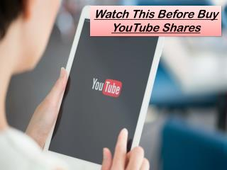 Steps to Buy YouTube Shares