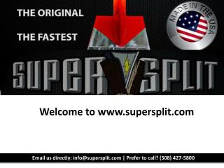 Best Log Splitter-SuperSplit.com