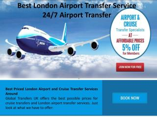 Best London Airport Transfer Service - 24/7 Airport Transfe