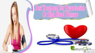 Which Is The Best Treatment For Hypertension