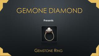 Gemstone Ring | Gemone Diamond