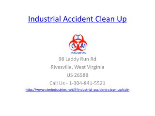 industrial accident clean up