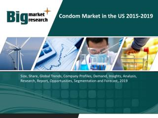 Condom Market in the US 2015-2019