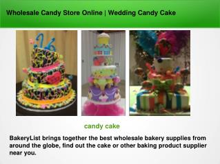 Wholesale Candy Store Online | Wedding Candy Cake