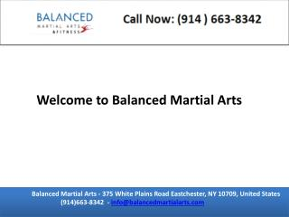 Balanced martial arts