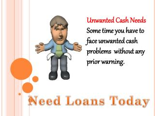 Affordable Financial Assistance On Urgent Needs