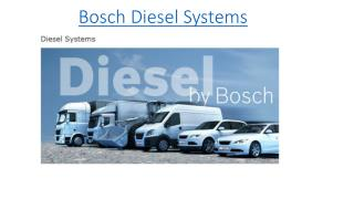 Bosch Diesel Systems
