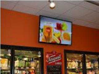 Digital menu &  Electronic Message display Boston