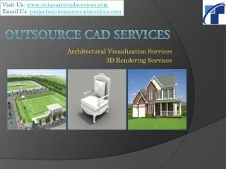 Outsource CAD Services - 3D Visualization Services