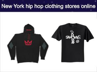 New York hip hop clothing stores online