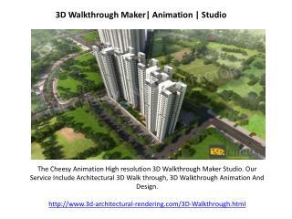 3D Walkthrough Design