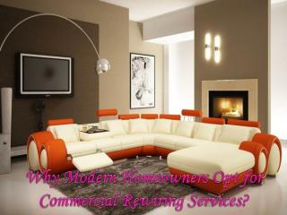 Why Modern Homeowners Opt for Commercial Rewiring Services