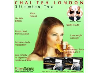 Get Back In Shape With Aurvedic Slim Tea