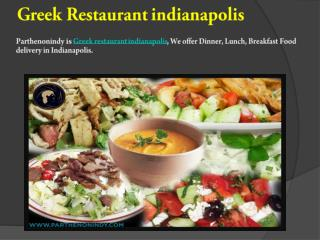 Greerk restaurants in indianapolis
