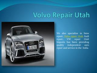 Volvo Repair Utah