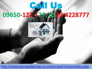 Amrapali leisure valley Residential Tower @ 09650-127-127