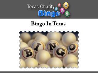 Bingo In Texas