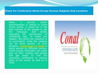 Conference in India