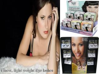 Buy finest, light weight Eyelashes from Madame Madeline