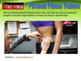 Weight Loss Programs by Personal Tainer in Toronto