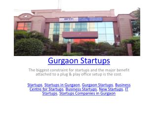 Gurgaon Startups