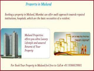 Property in Mulund For Booking Call @ 9266629901
