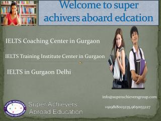 IELTS in Gurgaon Delhi