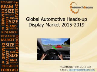 Automotive Heads-up Display Market Size, Share, 2015-2019