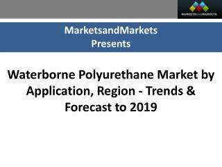 Waterborne Polyurethane Market worth $10.0 Billion by 2019