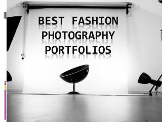 Best Fashion Photography Portfolios