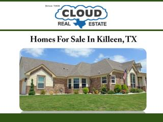 Homes for Sale in Killeen, TX
