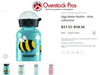 Reusable Water Bottles Online- Overstock Pros