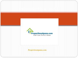 Pune Properties, Pune real estate, builders, Property pune