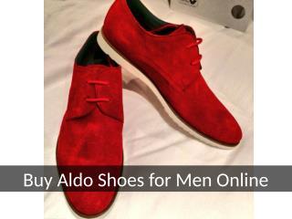 Buy Aldo Shoes for Men Online