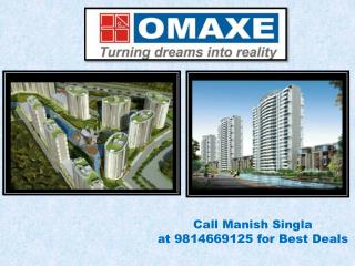 Omaxe Flats New Chandigarh
