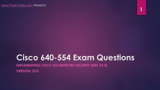 Cisco 640-554 Sample Questions