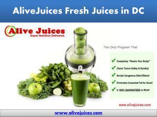 Fresh Juices DC