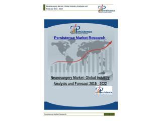 Global Neurosurgery Market Analysis and Forecast 2015 - 2022