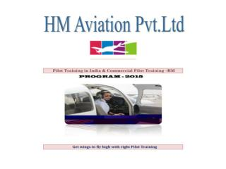 Pilot Training in India,Pilot Training,Commercial Pilot Jobs