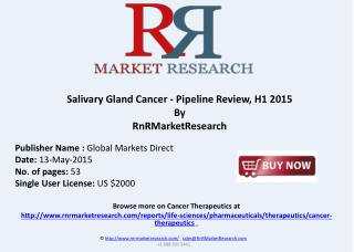 Salivary Gland Cancer Pipeline Review, H1 2015