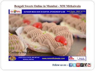 Bengali Sweets Online in Mumbai - MM Mithaiwala