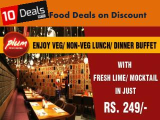 Discount on Exclusive  food deals at 10deals.in