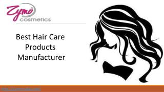 Best Hair Care Products Manufacturer India