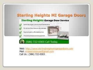 garage door opener repair sterling heights mi