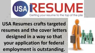 Resumes For Federal Jobs