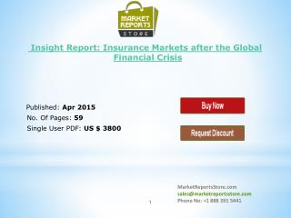 Insurance Industry Insight Report: Global Financial Research