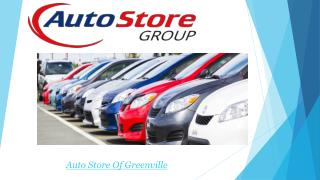 Auto Store Of Greenville and New Bern
