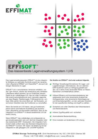 EffiSoft Datenblatt
