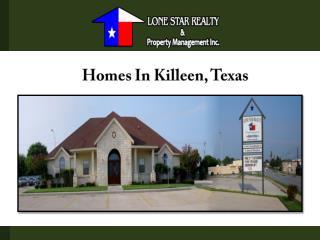 Homes In Killeen, Texas